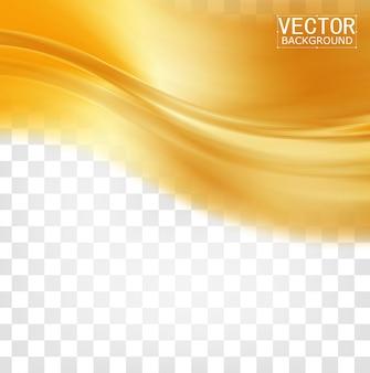 Vector hermoso satén de oro