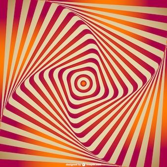 Vector de ilusión óptica