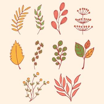 Vector de ilustración floral de primavera