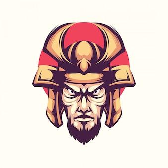 Vector de ilustración de guerrero