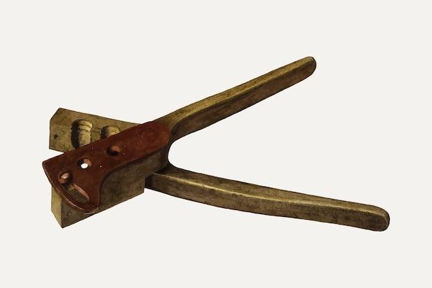 Vector de ilustración de molde de bala vintage, remezclado de la obra de arte de fred hassebrock