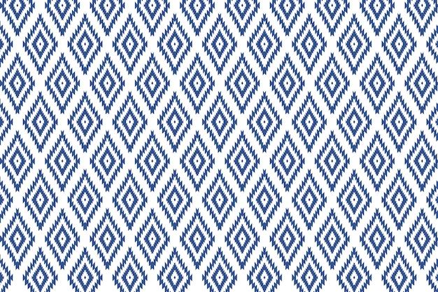 Vector de ilustración de patrones sin fisuras de tela tailandesa