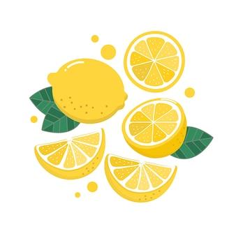 Vector de limón