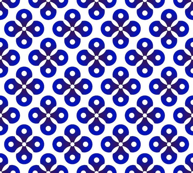 Vector lindo patrón de cerámica