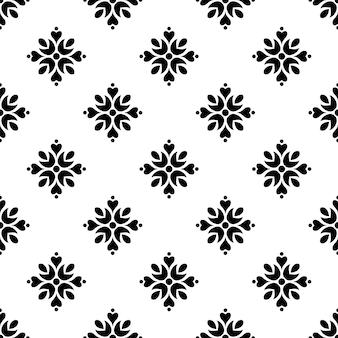 Vector lindo patrón de mosaico