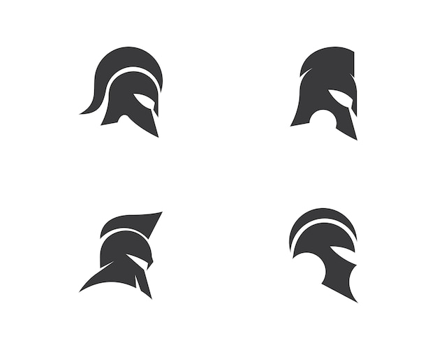 Vector logo espartano