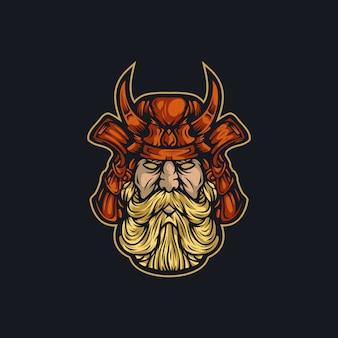 Vector logo guerrero