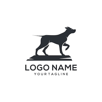 Vector logo perro