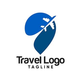 Vector logo de viaje