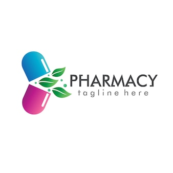 Vector de logotipo de la farmacia
