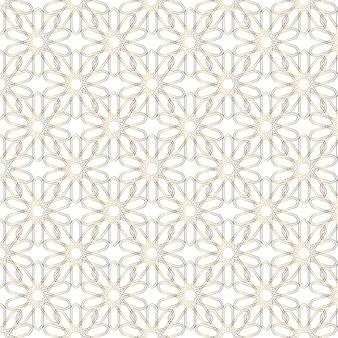 Vector de ornamento islamico