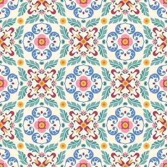 Vector ornamento de patrones sin fisuras