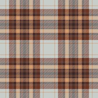 Vector de patrón de cuadros escoceses tartán escocia. tela de fondo retro. vintage verificación color cuadrado textura geométrica.