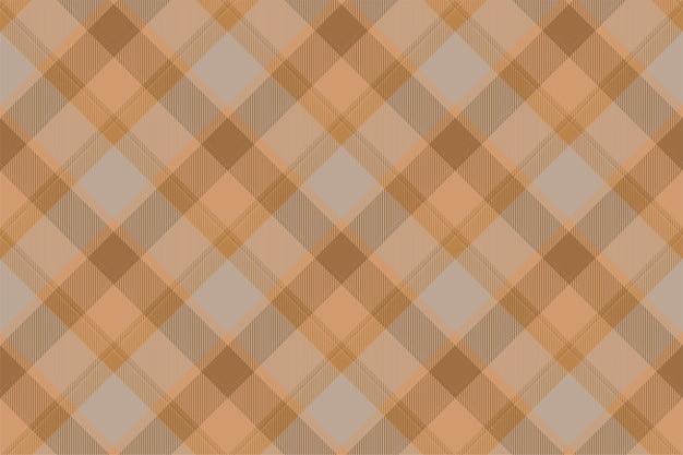 Vector de patrón de cuadros sin fisuras de tartán escocia. tela de fondo retro.