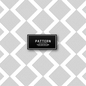 Vector de patrón decorativo triángulo moderno