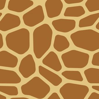 Vector de patrón de impresión animal transparente