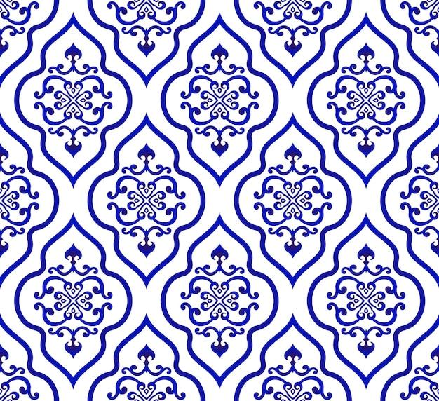 Vector de patrón islámico