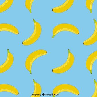 Vector patrón de plátanos