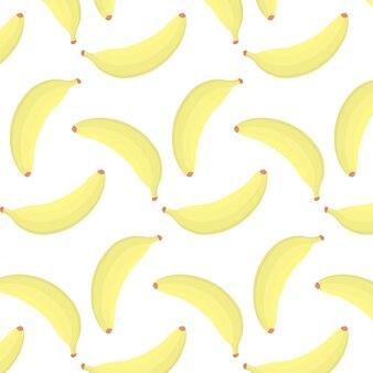 Vector de patrones sin fisuras de plátano