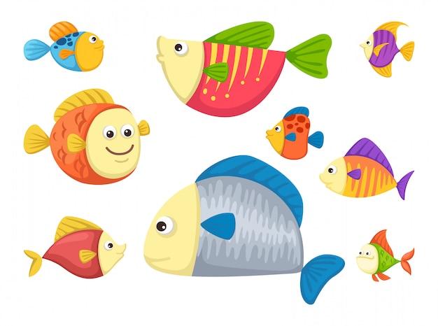 Vector de pescado
