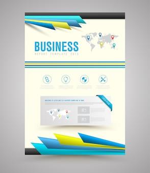 Vector de plantilla de diseño de impresión.