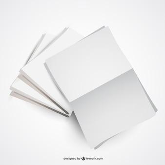 Vector plantilla de periódico