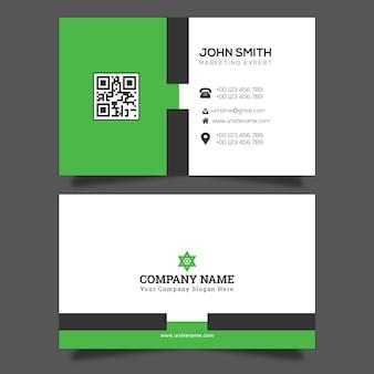 Vector de plantilla de tarjeta de visita