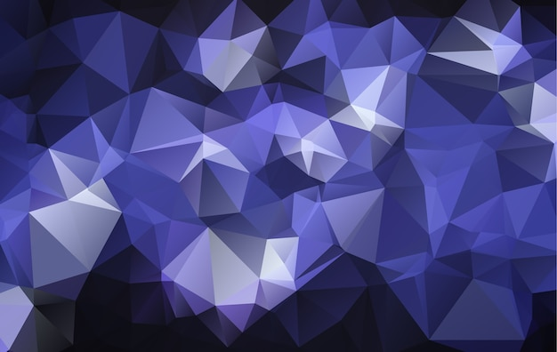 Vector polígono fondo geométrico abstracto.