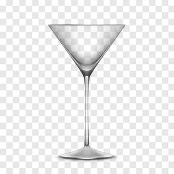 Vector realista vaso vacío