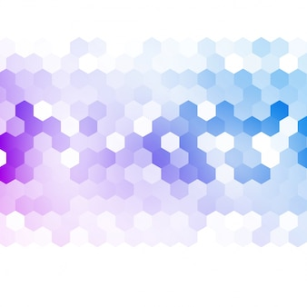 Vector resumen 3d hexagonal.