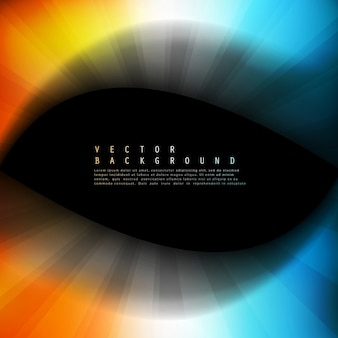 Vector resumen de antecedentes coloridos. ola de color