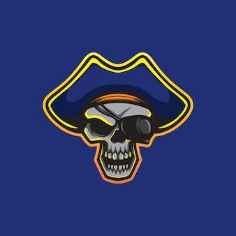 Vector de rey de los piratas