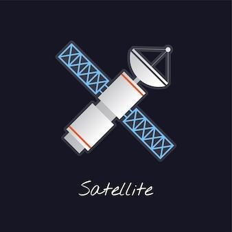 Vector satelital