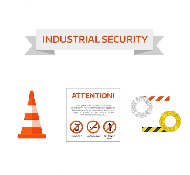 Vector de seguridad primera señal de tráfico en construcción sign sign collection