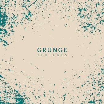 Vector de textura apenada grunge beige