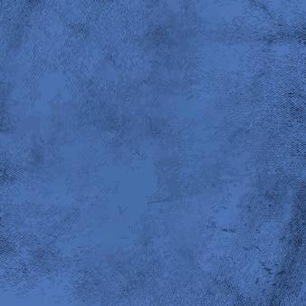 Vector de textura apenado grunge azul