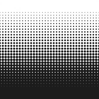 Vector de textura de degradado de puntos de semitono