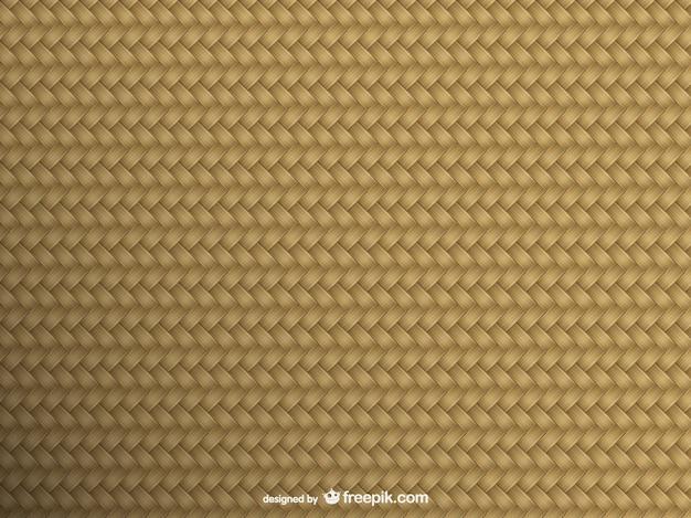 Vector de textura de mimbre