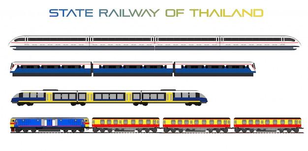 Vector de tren de alta velocidad