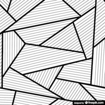 Vector triángulos abstractos
