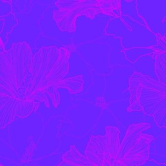 Vector tropical repetición de patrones sin fisuras resumen plantas exóticas