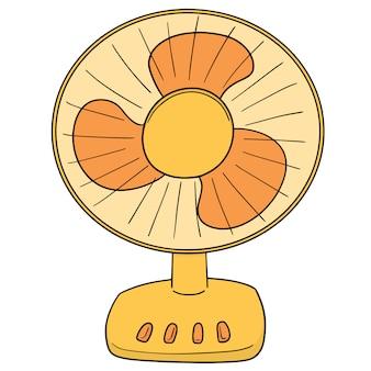 Vector de ventilador