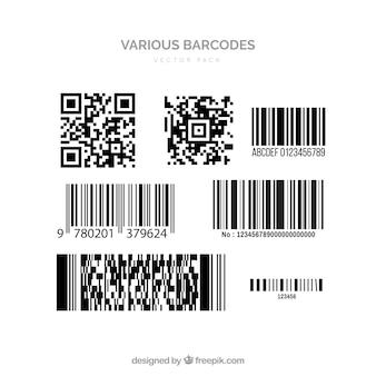 Vectores de código de barras