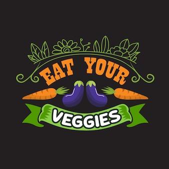 Vegan quote and saying good for colecciones de diseño