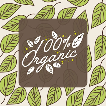 Vegetales orgánicos naturales