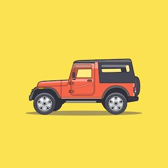 Vehículo de aventura fuera de carretera