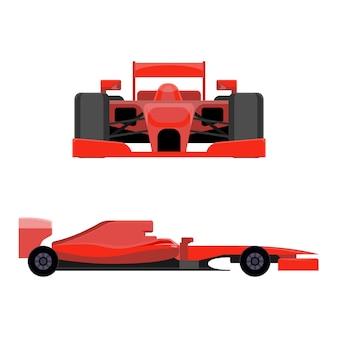 Vehículo deportivo para carreras profesionales.