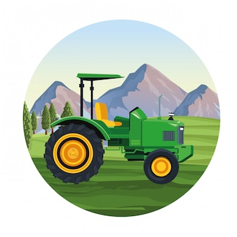 Vehículo tractor agrícola