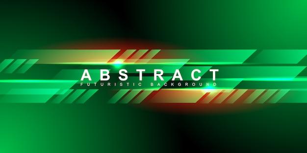 Velocidad abstracta luz rápida y forma con fondo de tecnología futurista