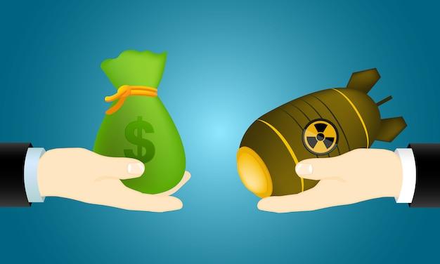 Venta de armas nucleares.